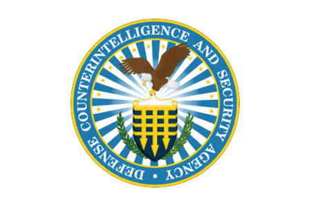 Defense Counterintelligence and Security Agency (DCSA) logo